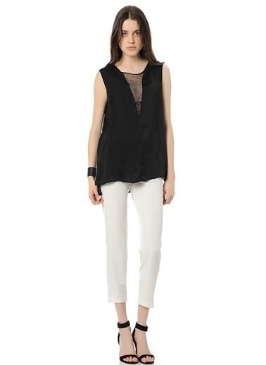 Cotton Bar Bluz Siyah